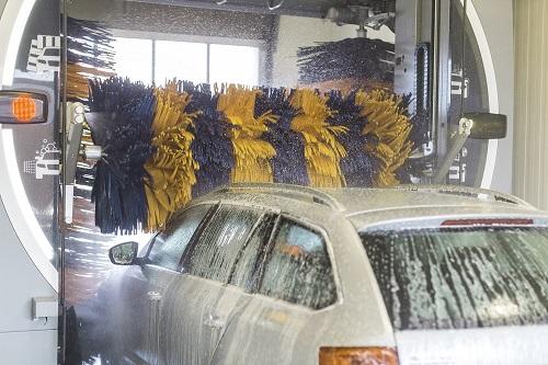 bilvask i vaskehal